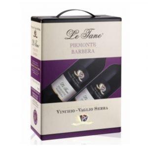 """Vino Migliore BAG IN BOX Barbera """"Le Tane"""" 3 Litri 2020 Vinchio Vaglio Serra"""