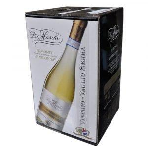 """Vino Migliore BAG IN BOX Chardonnay """"Le Masche"""" 10 Litri Vinchio Vaglio Serra"""