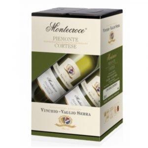 """Vino Migliore BAG IN BOX Cortese """"Montecroce"""" 10 Litri Vinchio Vaglio Serra"""
