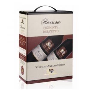 """Vino Migliore BAG IN BOX Dolcetto """"Riocrosio"""" 3 Litri Vinchio Vaglio Serra"""