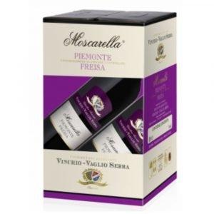 """Vino Migliore BAG IN BOX Freisa """"Moscarella"""" 10 Litri Vinchio Vaglio Serra"""