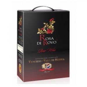 """Vino Migliore BAG IN BOX Rosato """"Rosa di Rovo"""" 3 Litri Vinchio Vaglio Serra"""