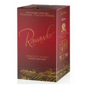 """Vino Migliore BAG IN BOX Rosso """"Ramaudio"""" 10 Litri Vinchio Vaglio Serra"""