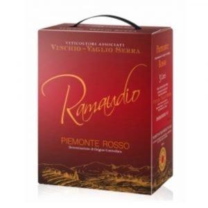 """Vino Migliore BAG IN BOX Rosso """"Ramaudio"""" 3 Litri Vinchio Vaglio Serra"""