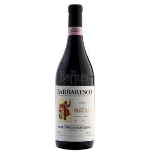 """Vino Migliore PIEMONTE Barbaresco Riserva """"Montefico"""" 2016 Produttori del Barbaresco"""