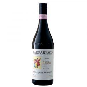 """Vino Migliore PIEMONTE Barbaresco Riserva """"Rabaja"""" 2014 Produttori del Barbaresco"""