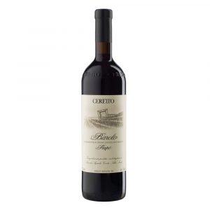 """Vino Migliore Ceretto Barolo """"Prapó"""" 2007-2008-2009 Bricco Rocche Ceretto"""