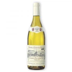 "Vino Migliore FRANCIA Chablis ""Premier Cru Vaillon"" 2005 Daniel-Etienne Defoix"