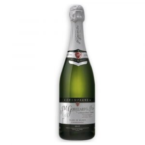 "Vino Migliore CHAMPAGNE Champagne ""Brut Blanc de Blancs"" JM Gobillard et Fils"