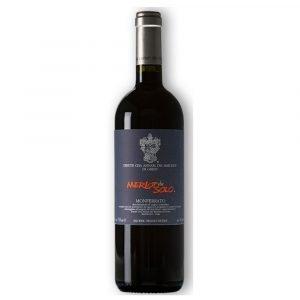 """Vino Migliore Marchesi di Gresy Rosso Monferrato """"Merlot daSolo"""" 2010 Marchesi di Gresy"""