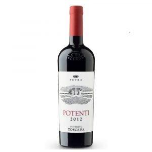 """Vino Migliore Petra Rosso """"Potenti"""" Petra"""