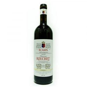 """Vino Migliore PIEMONTE Monferrato Rosso """"Rouchet"""" 2017 Scarpa"""