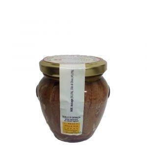 Vino Migliore CONSERVE PIEMONTESI Filetti di Acciughe all'Olio di Oliva 200 Gr I Frutti della mia Langa Della Ferrara