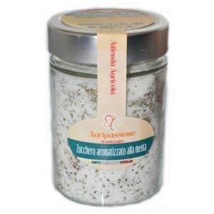 Vino Migliore CONSERVE PIEMONTESI Zucchero Aromatizzato alla Menta 300 Gr Agripassione