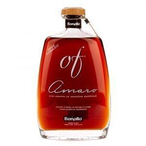"""Vino Migliore LIQUORI Amaro """"Of"""" Bonollo"""