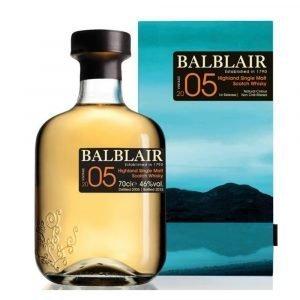 "Vino Migliore WHISKY Whisky ""Single Malt Balblair"" 2005 Distillery Balblair"