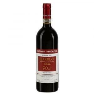 """Vino Migliore Giacomo Fenocchio Barolo Riserva """"90 di Bussia"""" 2015 Giacomo Fenocchio"""