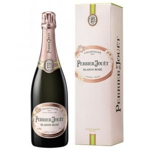"Vino Migliore CHAMPAGNE Champagne Brut ""Blason Rosé"" Perrier Jouët"