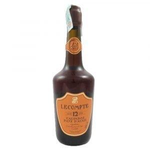 Vino Migliore CALVADOS Calvados Pays d'Auge 12 Anni Lecompte