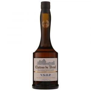 Vino Migliore CALVADOS Calvados Pays d'Auge V.S.O.P. Château du Breuil