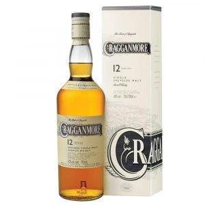 """Vino Migliore WHISKY Whisky """"Single Malt Speyside 12 Anni"""" Astucciato Cragganmore"""