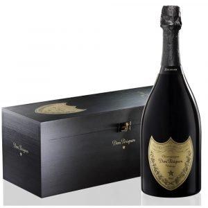 """Vino Migliore CHAMPAGNE Champagne """"Dom Pérignon"""" Mathusalem 6 Litri Cassa di Legno Moët Hennessy"""