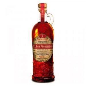 Vino Migliore RHUM Rum El Ron Prohibido 12 Anni Habanero
