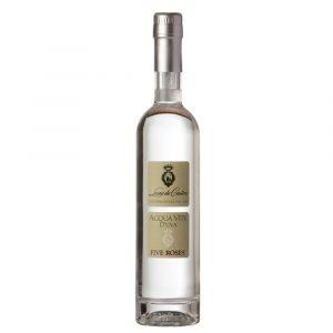 """Vino Migliore GRAPPE Acquavite d'Uva """"Five Roses"""" Leone de Castris"""
