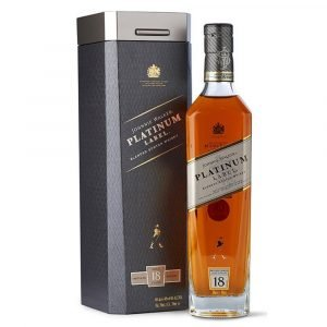 "Vino Migliore WHISKY Whisky ""Blended Platinum Label 18 Anni"" Astucciato Johnnie Walker"