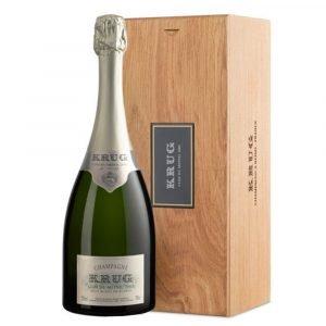 "Vino Migliore CHAMPAGNE Champagne ""Krug Clos du Mesnil 2004"" in Legno Moët Hennessy"