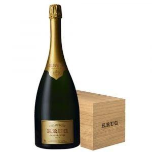 """Vino Migliore CHAMPAGNE Champagne """"Krug Grande Cuvée"""" 3 Litri Jeroboam in Legno Moët Hennessy"""