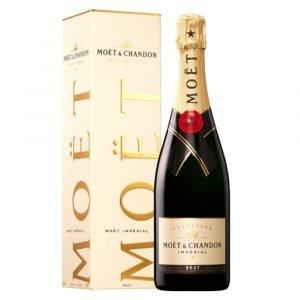 "Vino Migliore CHAMPAGNE Champagne ""Moët Imperial Astucciato"" Moët Chandon Moët Hennessy"