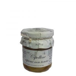 Vino Migliore CONSERVE PIEMONTESI Cipolline Ripiene con Tonno 180 Gr Riolfi