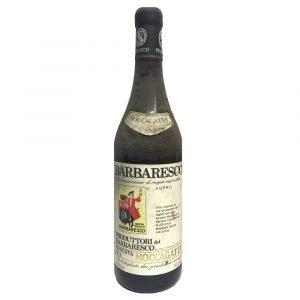 """Vino Migliore BOTTIGLIE STORICHE Barbaresco Riserva """"Moccagatta"""" 1974 Produttori del Barbaresco"""