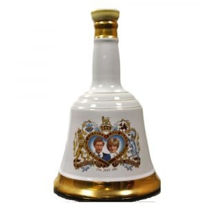 """Vino Migliore WHISKY Whisky """"The Marriage Prince Charles and Lady Diana Spencer"""" Bell's"""