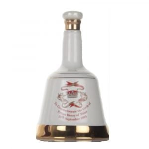 """Vino Migliore WHISKY Whisky """"The Birth of Prince Henry of Wales 15th September 1984"""" Bell's"""
