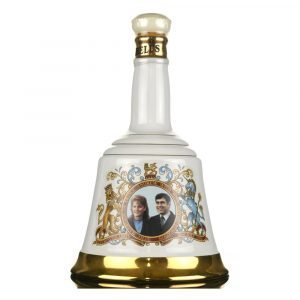 """Vino Migliore WHISKY Scotch Whisky """"The Marriage of Prince Andrew with Miss Sarah Ferguson"""" Bell's"""