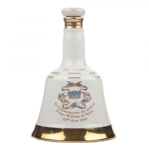 """Vino Migliore WHISKY Whisky """"The Birth of Prince William of Wales 21st June 1982"""" Bell's"""