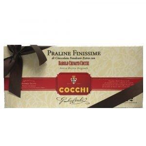 Vino Migliore Cocchi Praline Finissime di Cioccolato Fondente Extra con Barolo Chinato Cocchi