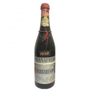 Vino Migliore BOTTIGLIE STORICHE Barbaresco Riserva 1958 Fontanafredda