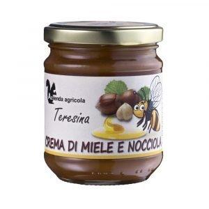 Vino Migliore DOLCI Crema di Miele e Nocciola 230 Gr Teresina