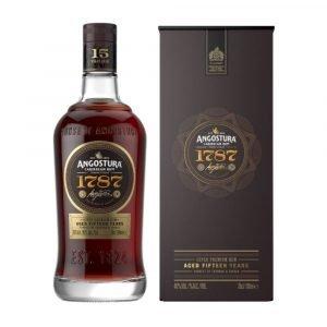Vino Migliore RHUM Dark Rum 1787 15 Years Angostura