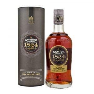 Vino Migliore RHUM Dark Rum 1824 12 Years Angostura