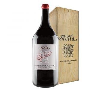 """Vino Migliore PIEMONTE Barbera d'Asti Superiore """"Giaiet"""" 12 Litri Stella"""