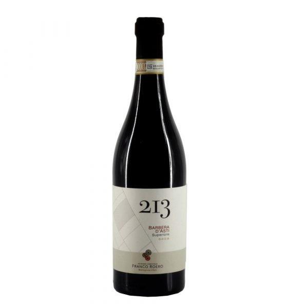 """Vino Migliore Franco roero Barbera d'Asti Superiore """"213"""" Franco Roero"""