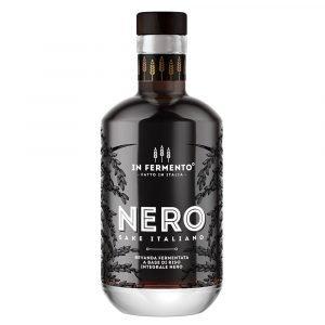 Vino Migliore LIQUORI Nero Sake Italiano In Fermento
