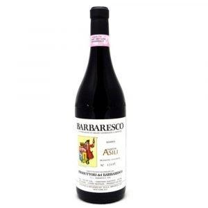 """Vino Migliore PIEMONTE Barbaresco Riserva """"Asili"""" 2016 Produttori del Barbaresco"""