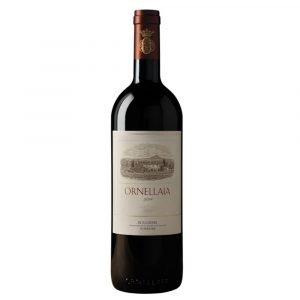 """Vino Migliore Ornellaia Bolgheri Superiore """"Ornellaia"""" 2017 Cassa Legno da 6 Bottiglie Ornallaia"""