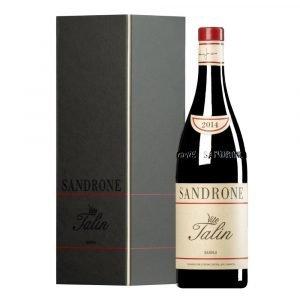 """Vino Migliore PIEMONTE Barolo """"Vite Talin"""" 2014 (Astucciato) Luciano Sandrone"""