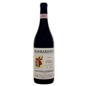"""Vino Migliore PIEMONTE Barbaresco Riserva """"Pora"""" 2014 Produttori del Barbaresco"""